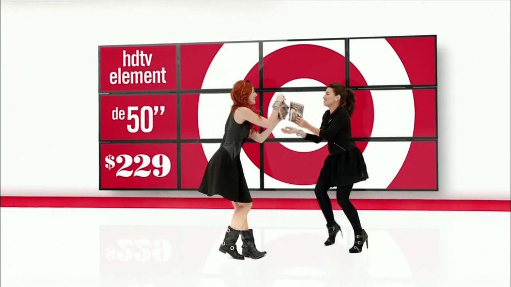 Target black tv