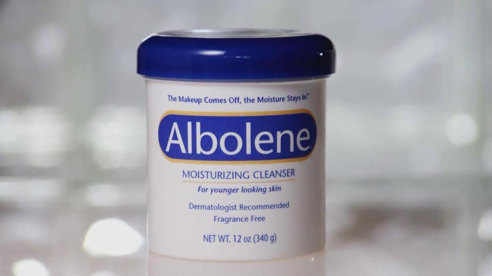 Albolene makeup remover