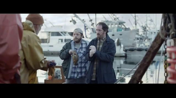 geico tv commercial, 'fishermen tell tales: it's what you