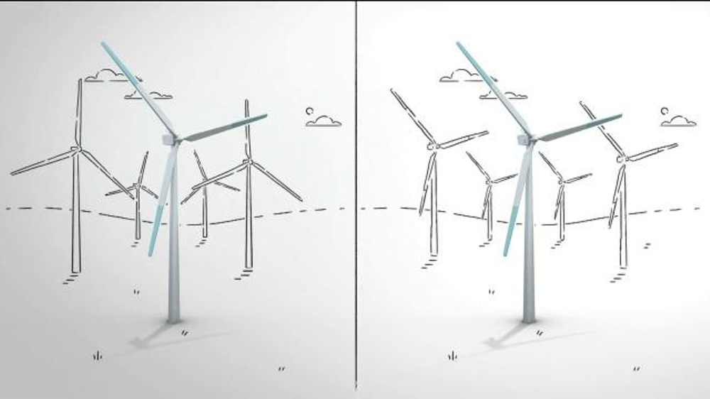 General Electric TV Commercial, 'Commercial the Difference: Wind Turbine' -  Video