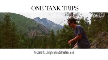 Honda One Tank Trips Sweepstakes TV Spot, 'Sleeping Lady Resort: 2015 CR-V' - Thumbnail 1