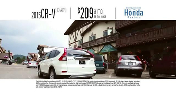 Honda One Tank Trips Sweepstakes TV Spot, 'Sleeping Lady Resort: 2015 CR-V' - Thumbnail 7