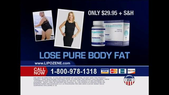 Lipozene TV Spot, \'Lose Pure Body Fat\'