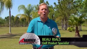 Hammer-X Driver TV Spot, 'Aerodynamically Designed' - 8 commercial airings