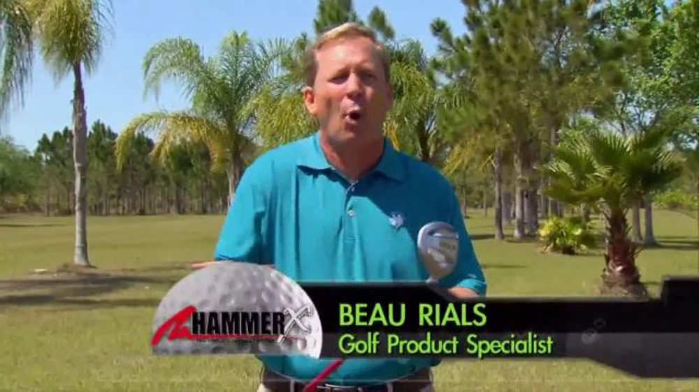 Hammer-X Driver TV Commercial, 'Aerodynamically Designed'
