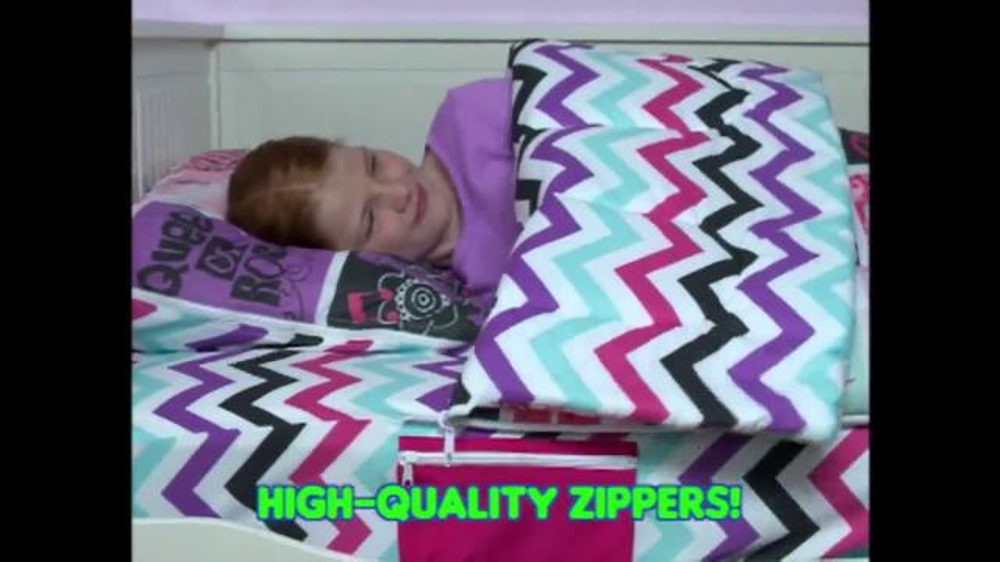 Zipit Bedding TV Commercial, 'Easy, Fast and Fun'