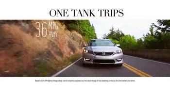 Honda One Tank Trips Sweepstakes TV Spot, 'Chrysalis Inn: 2015 Accord' - Thumbnail 5