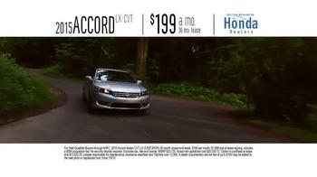 Honda One Tank Trips Sweepstakes TV Spot, 'Chrysalis Inn: 2015 Accord' - Thumbnail 7