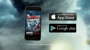 Sharknado: Go Shark Yourself! App TV Spot, 'Sharknado 3' - Thumbnail 10