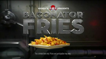 Wendy's Baconator Fries TV Spot, 'Another Dimension' - 5533 commercial airings
