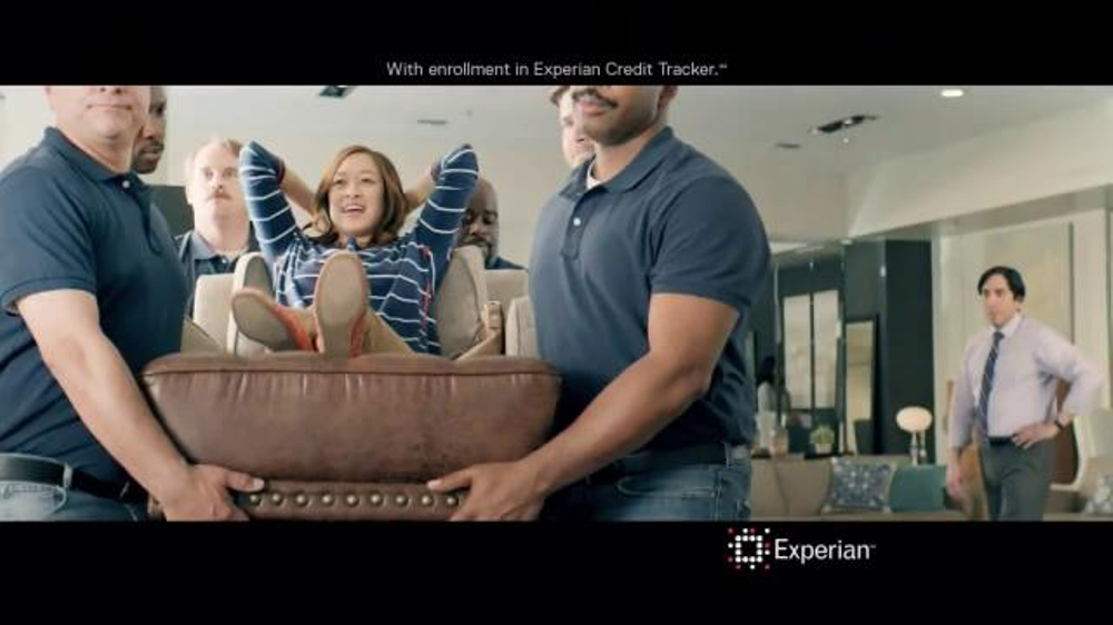 Experian TV Commercial, 'Credit Swagger: Furniture Showroom'