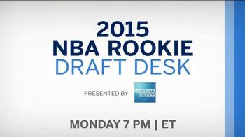American Express TV Spot, '2015 NBA Rookie Draft Desk' Ft. D'Angelo Russell - Thumbnail 9