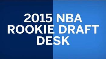 American Express TV Spot, '2015 NBA Rookie Draft Desk' Ft. D'Angelo Russell - Thumbnail 2