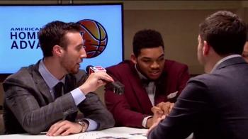 American Express TV Spot, '2015 NBA Rookie Draft Desk' Ft. D'Angelo Russell - Thumbnail 7