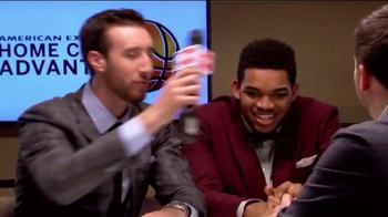 American Express TV Spot, '2015 NBA Rookie Draft Desk' Ft. D'Angelo Russell - Thumbnail 8