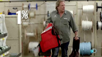 Bank of America Cash Rewards Card TV Spot, 'Discovery' Featuring Sig Hansen