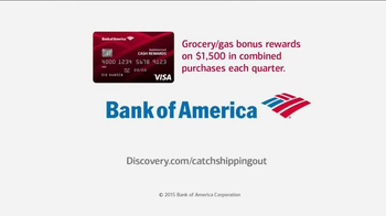 Bank of America Cash Rewards Card TV Spot, 'Discovery' Featuring Sig Hansen - Thumbnail 9