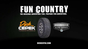 Dick Cepek Fun Country Tires TV Spot, 'Mud, Sand, Ice, Water'