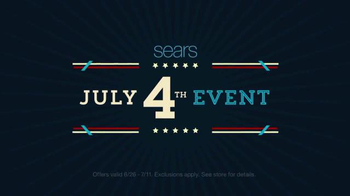 Sears Fourth of July Event TV Spot, 'Appliance Hot Buys' - Thumbnail 2