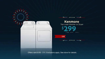Sears Fourth of July Event TV Spot, 'Appliance Hot Buys' - Thumbnail 4