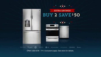 Sears Fourth of July Event TV Spot, 'Appliance Hot Buys' - Thumbnail 6