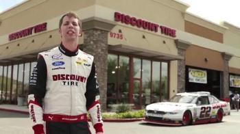 Discount Tire TV Spot, 'Thank You From Brad Keselowski and Joey Logano' - Thumbnail 1