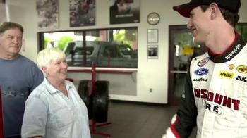 Discount Tire TV Spot, 'Thank You From Brad Keselowski and Joey Logano' - Thumbnail 3