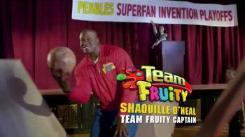 Fruity Pebbles TV Spot, 'Disney Channel: Super Fan' Featuring Shaq - Thumbnail 6