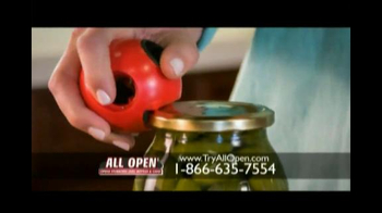 All Open TV Spot, 'Open Anything'