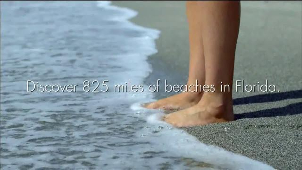 Visit Florida TV Commercial, 'Explore the Beaches'