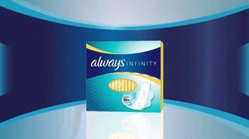 Always Infinity Pads TV Spot, 'What Can You Do With Infinity?' - Thumbnail 10