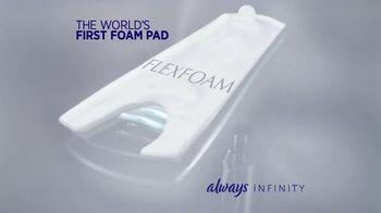 Always Infinity Pads TV Spot, 'What Can You Do With Infinity?' - Thumbnail 7