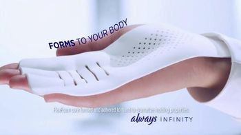 Always Infinity Pads TV Spot, 'What Can You Do With Infinity?' - Thumbnail 8