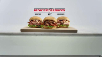 Arby's Brown Sugar Bacon TV Spot, 'Your Eyes Were Right' - Thumbnail 4