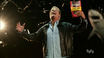 Jack Link's Beef Jerky TV Spot, 'SyFy Network Promo' Feat. David Hasselhoff - 19 commercial airings
