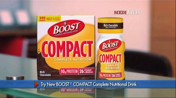 Boost Compact TV Spot, 'Medi Facts' - Thumbnail 4