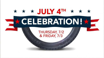 Discount Tire July Fourth Celebration TV Spot, 'Celebrate Independence Day' - Thumbnail 2