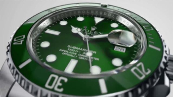 Rolex Oyster Perpetual Submariner Date TV Spot, 'Deep Emerald' - Thumbnail 3