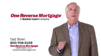 One Reverse Mortgage TV Spot, 'Retire Sooner' Featuring Henry Winkler