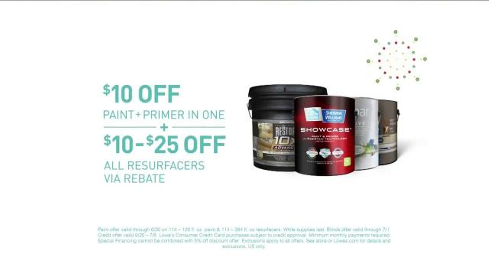 Lowe S Tv Commercial Fourth Of July Savings On Paint