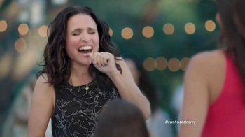 Old Navy TV Spot, 'No Joke' Featuring Julia Louis-Dreyfus - Thumbnail 1