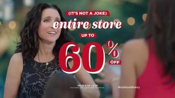 Old Navy TV Spot, 'No Joke' Featuring Julia Louis-Dreyfus - Thumbnail 7