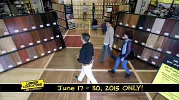 Lumber Liquidators End of Quarter Clearance TV Spot, 'Every Floor on Sale' - Thumbnail 10