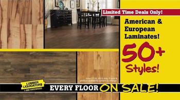 Lumber Liquidators End of Quarter Clearance TV Spot, 'Every Floor on Sale' - Thumbnail 4