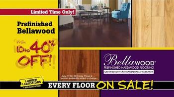 Lumber Liquidators End of Quarter Clearance TV Spot, 'Every Floor on Sale' - Thumbnail 7