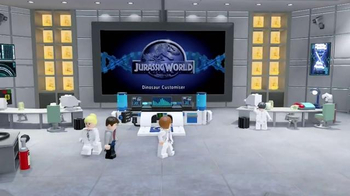 LEGO Jurassic World Game TV Spot, 'Nickelodeon: Game On'