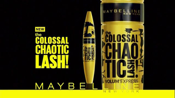 Maybelline New York Colossal Chaotic Lash TV Spot, 'Major Volume' - 2474 commercial airings