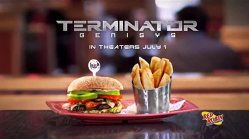 Red Robin Limited Edition Gift Card TV Spot, 'Terminator Genisys'