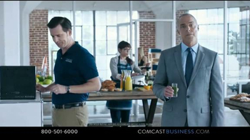 Comcast Business TV Spot, 'Perks' - 1445 commercial airings