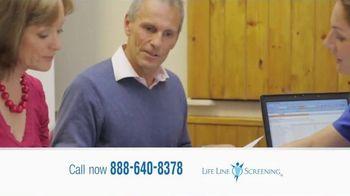 Life Line Screening TV Spot, 'Screenings for Cardiovascular Diseases' - Thumbnail 10